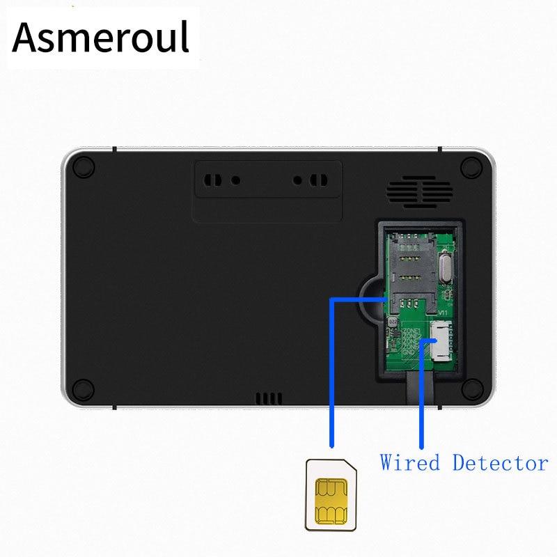TuyaSmart Wifi GSM Alarm System Home Burglar Alarm Temperature Humidity Wireless Wired Touchpad Fingerprint Alexa Google Home enlarge