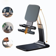 Desktop Holder for Phone Adjustable Tablet Stand Foldable Extend Support for iPhone 7 8 X XS iPad Xiaomi mi Huawei Mobile Phone