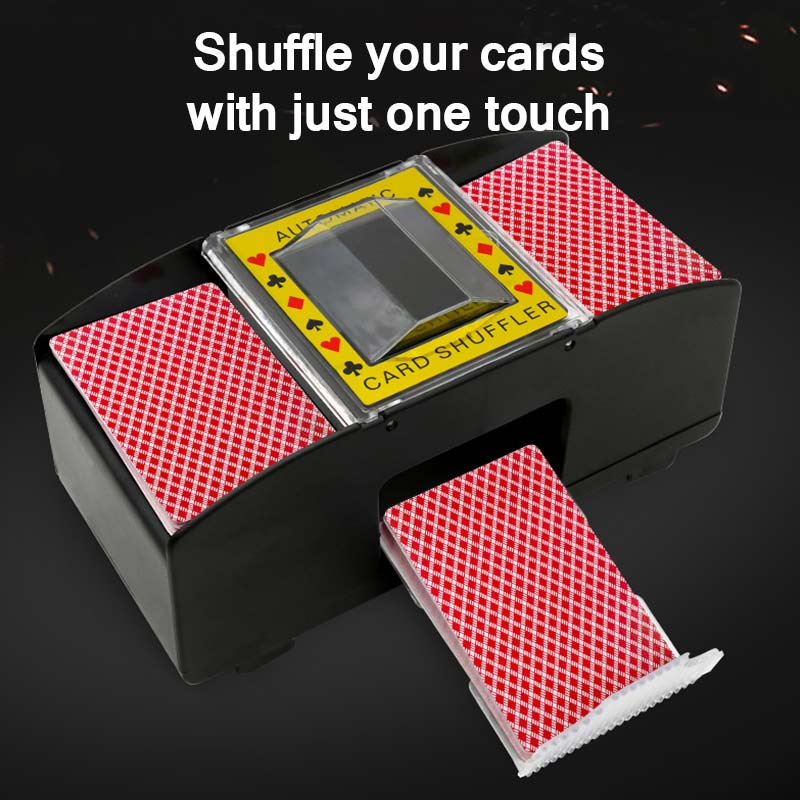 Shuffle Machine Board Game Poker Playing Cards Electric Automatic Card Game Party Entertainment And Card Shuffler Essentials