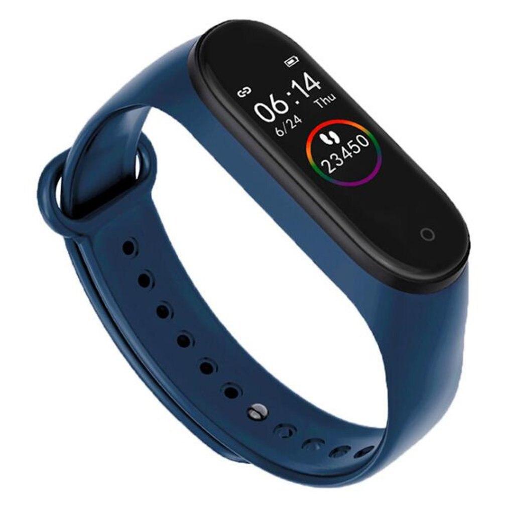 Pulsera inteligente M4/M3 con correa para medir la presión sanguínea, el ritmo cardíaco y el contador de pasos, pulsera para el estado físico y la salud