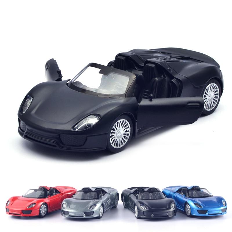 2021 распродажа, как горячие торты, модель из сплава Porsche 918, модель маленького карманного автомобиля из сплава, игрушки для детей