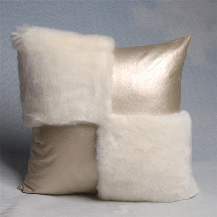 غطاء وسادة مربع من جلد البولي يوريثان ، غطاء وسادة أريكة على الطراز الأوروبي ، مسند ظهر