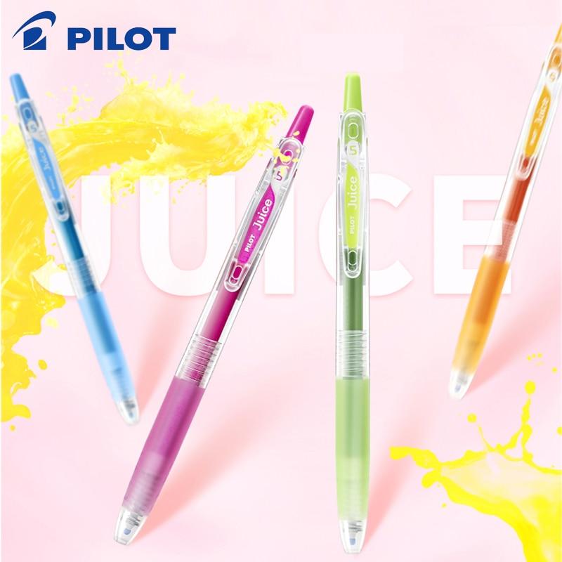 Pilot Juice Color Gel Pen LJU-10EF Press Neutral 24 optional Student Office Writing Painting Supplies 0.5mm