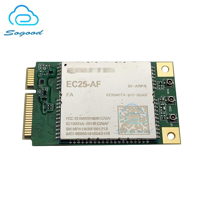 EC25-AF EC25 EC25AFFA-512-SGAS Mini Pcie B2/B4/B5/B12/B13/B14/B66/B71 4G FDD-LTE/TDD-LTE CAT4 módulo para América del Norte nuevo