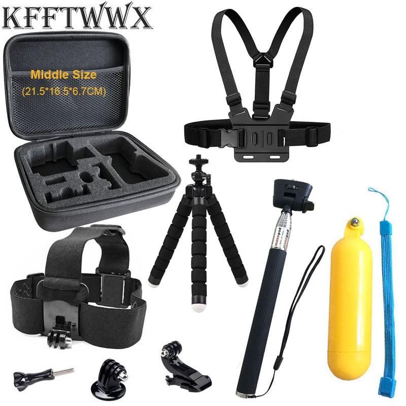 KFFTWWX accesorios trípode para GoPro héroe 9 Monte Bobber flotante palo de...
