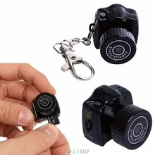 Y2000 Mini Camera Camcorder HD 1080P Micro DVR Camcorder Portable Webcam Recorder Camera