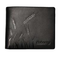 2021 new 100 genuine leather wallet men new brand purses for men black bifold luxury wallet