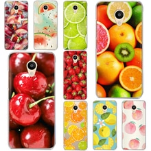 Fruit cherry DC For Meizu M6 Note M5S 5C M3s 3 M5 Note Pro6 U10 U20 Soft silicone TPU Cover Case Coque Etui funda Phone shell