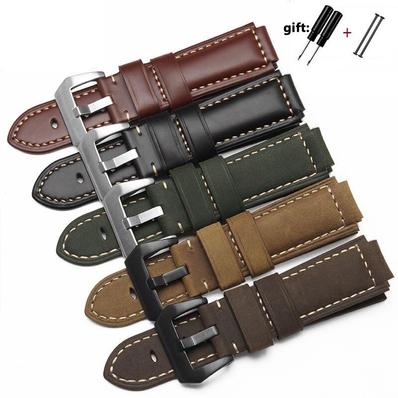 Qualität Aus Echtem Leder armband Für männer der Timex T49859   T2N720   T2p141   T2n722   723   738   739 Strap mit edelstahl Armband