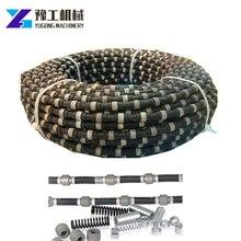 Machine de scie à fil de béton de coupe de roche hydraulique/électrique/dure de singapour