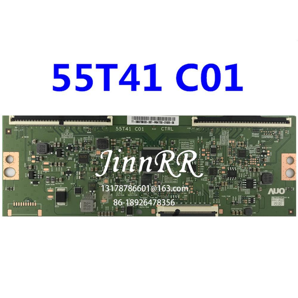 لوحة منطقية أصلية 55T41-C01 AU 65 بوصة, اختبار سارٍ للجودة 55T41-C01