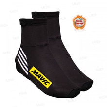 New MAVIC Winter Thermal Cycling Shoe Cover Sport Mans MTB Bike Shoes Covers Bicycle Overshoes Cubre