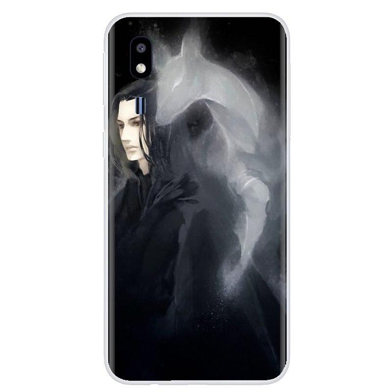 Favorito de la caja del teléfono de silicona para Samsung Galaxy A3 A5 A7 A9 A8 Star Lite A6 Plus 2018, 2015, 2016, 2017 Severus Snape siempre cartel