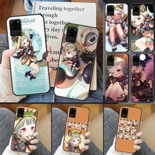 Genshin Impact Sayu Phone case For Samsung Galaxy Note 4 8 9 10 20 S8 S9 S10 S10E S20 Plus UITRA Ult