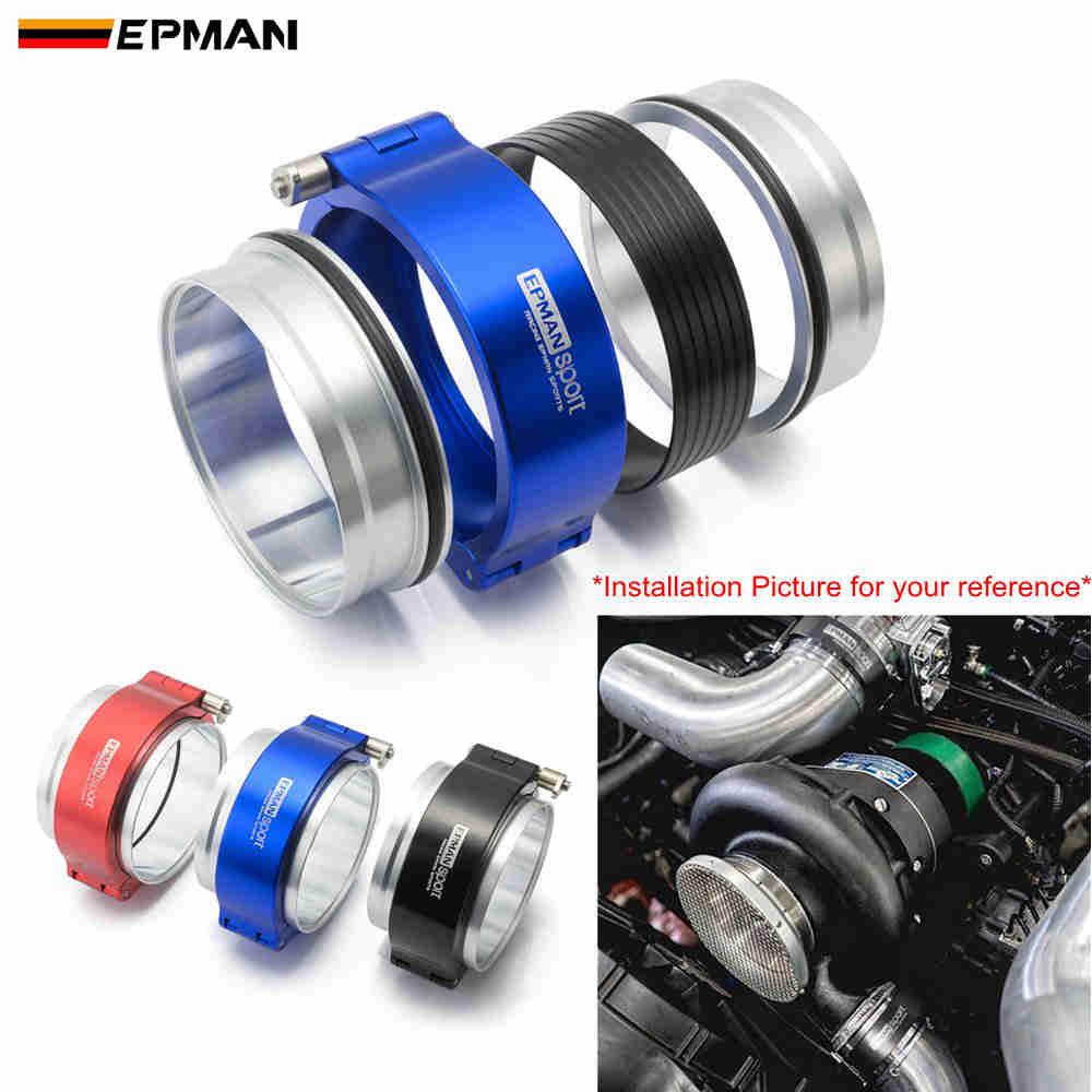 """EPMAN быстроразъемные зажимы Производительность HD хомут система в сборе для 3 """"OD дроссельной заслонки интеркулер трубы турбо и т. Д EPSS76KB"""