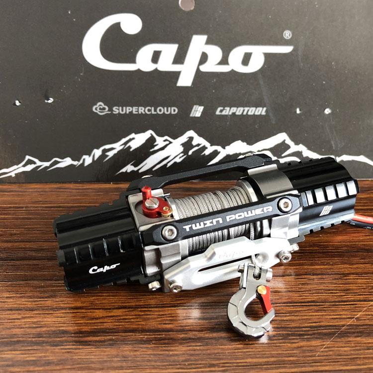 Capo C2 MASTER двойное питание, дистанционное управление Лебедка для capo JKMAX capo Sixer suzuki samurai ACE1 TRX4