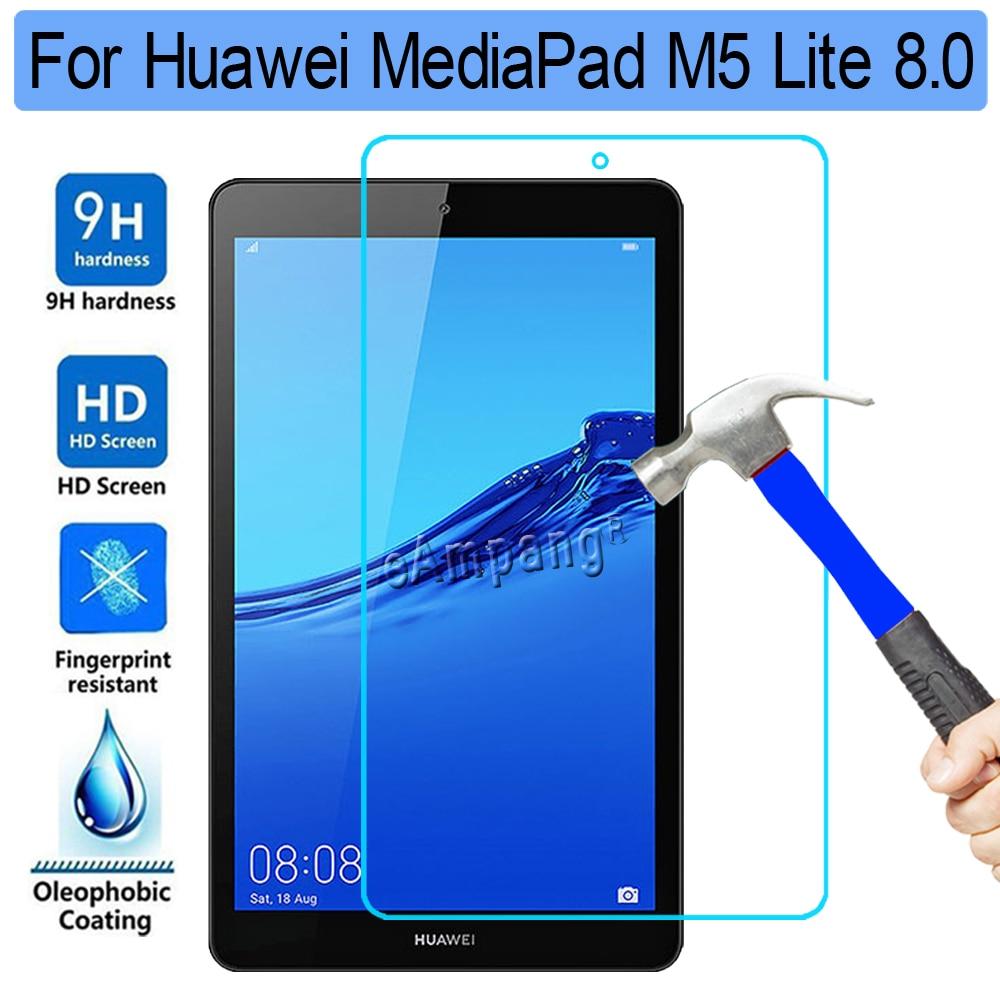 Protector de pantalla de vidrio templado 9H HD para Huawei Mediapad M5...