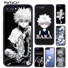 MaiYaCa Anime Hunter X Hunter Killua Zaoldyeck Phone Case Cover For iPhone X XR XS 11 Pro MAX 5 6S 7 8 Plus Samsung S7 S8 S9 S10