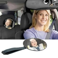 baby car mirror safety view back seat mirror baby facing rear ward infant care square safety kids monitor car accessories