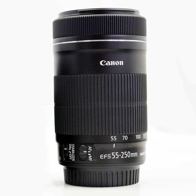 تستخدم كانون EF-S 55-250 مللي متر f/4-5.6 IS STM عدسة الكاميرا SLR كاميرا