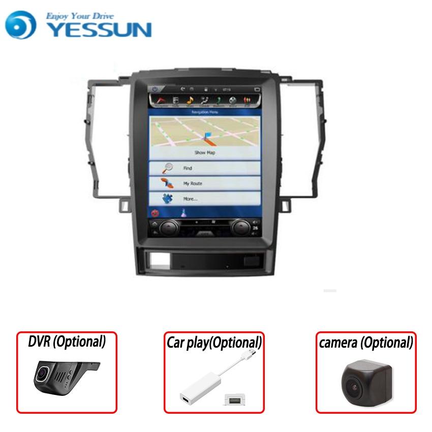 Sistema de reproductor Multimedia Yessun 2din para TOYOTA CROWN 2008 ~ 2012 Android 6,0 Radio Estéreo GPS navegación Audio Video