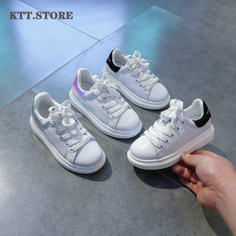 حذاء رياضي للبنين بنات أطفال حذاء رياضي كاجول أحذية مراهق أحذية رياضية حذاء رياضة جلد غير رسمي في بنات أحذية مدرسة