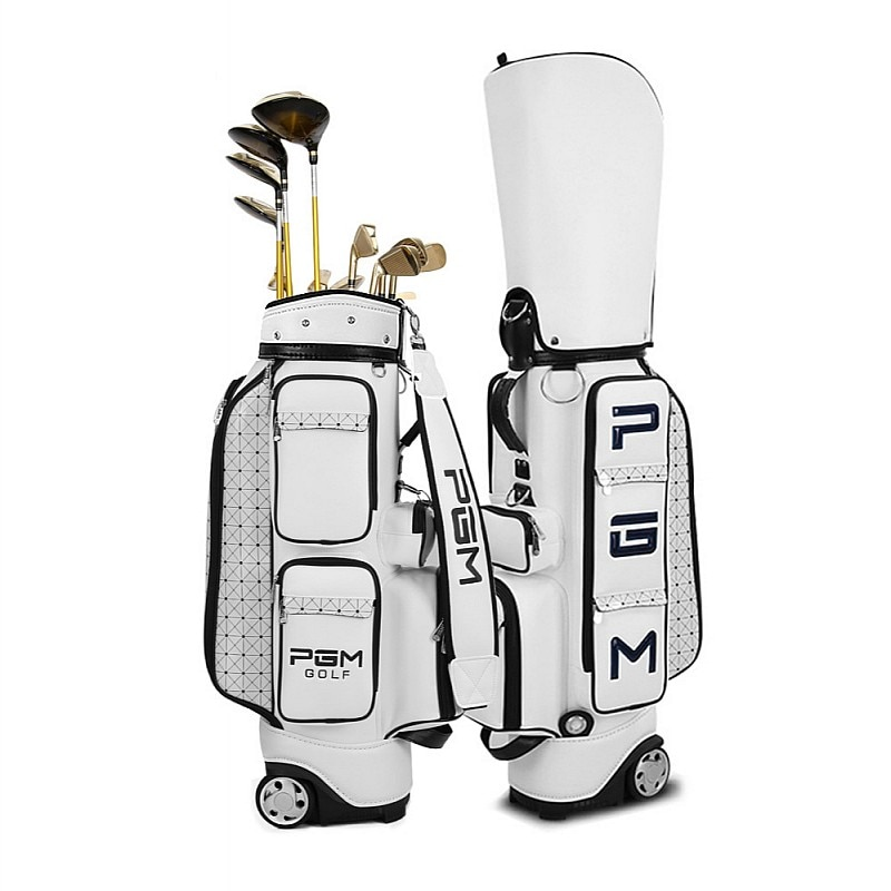 Men Women Portable Golf Gun Bag with Braces Bracket Stand Support Lightweight Golf Bagpack Adult Golf Club Gun Bag Travel Bag