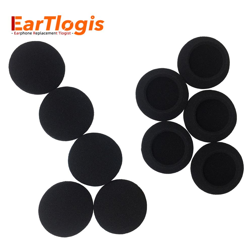 EarTlogis Sponge Replacement Ear Pads for Sennheiser HD400 HD410 HD-400 HD-410 Headset Parts Foam Cover Earbud Tip Pillow enlarge