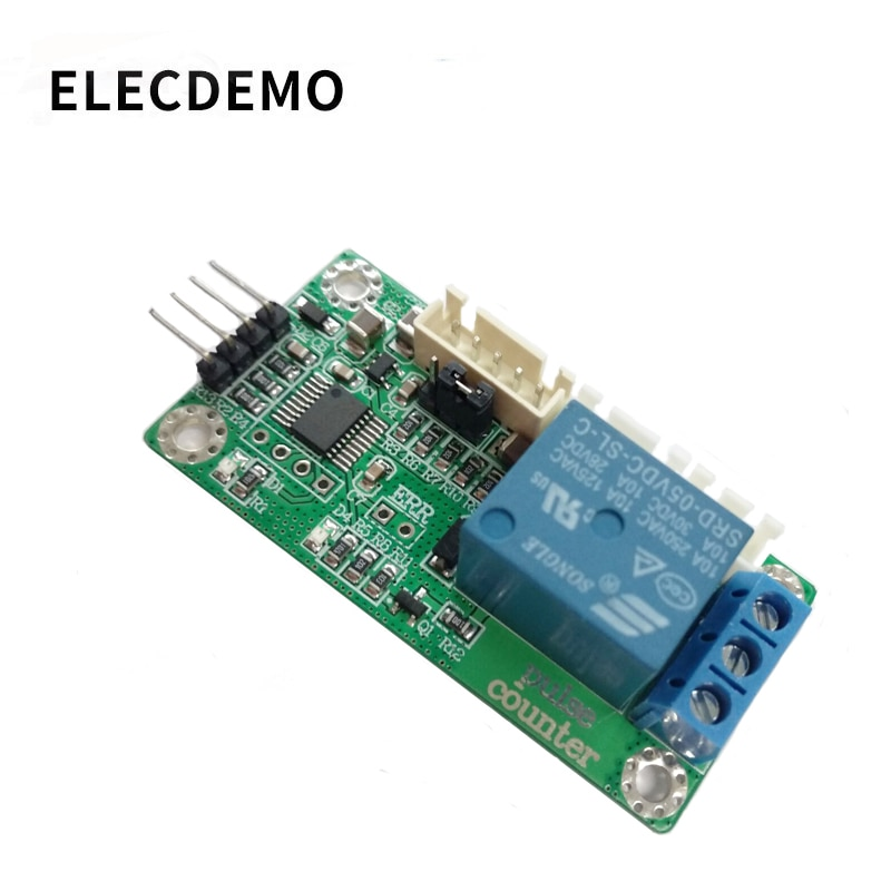 Counting sensor module Photoelectric/Hall switch sensor Pulse signal counting frequency converter Serial port недорого