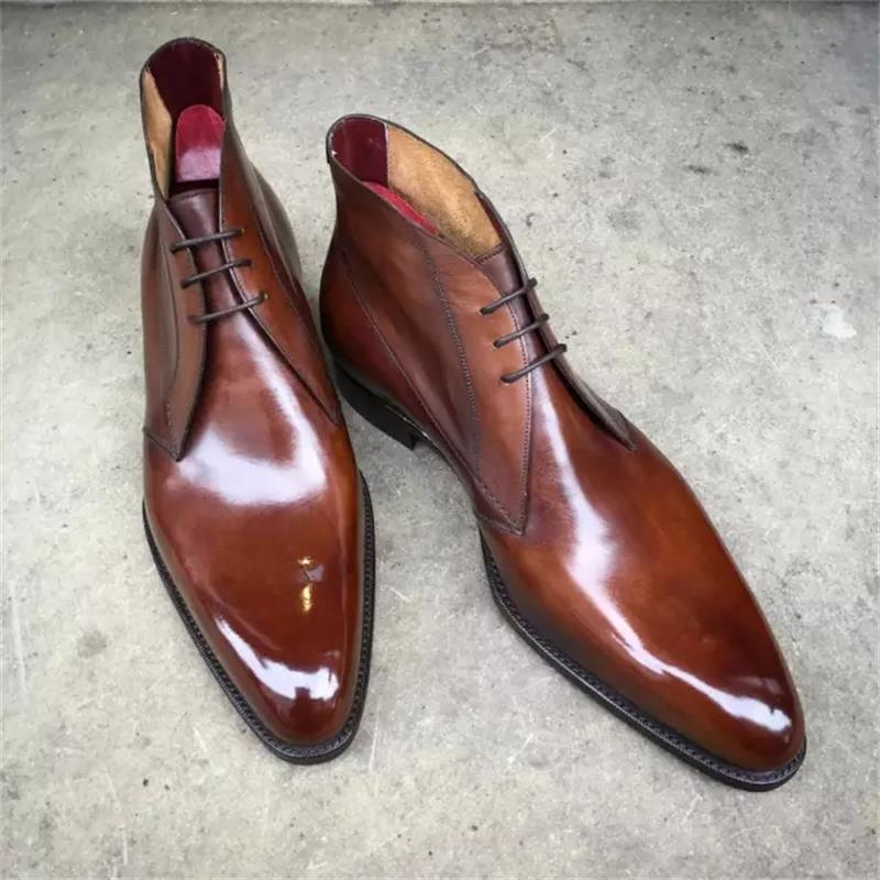 2021 جديد الرجال فساتين راقية الأحذية اليدوية بلون بولي PU فو الجلد المدبوغ وينغيتيب الدانتيل متابعة الأعمال الكلاسيكية حذاء من الجلد 3KC516