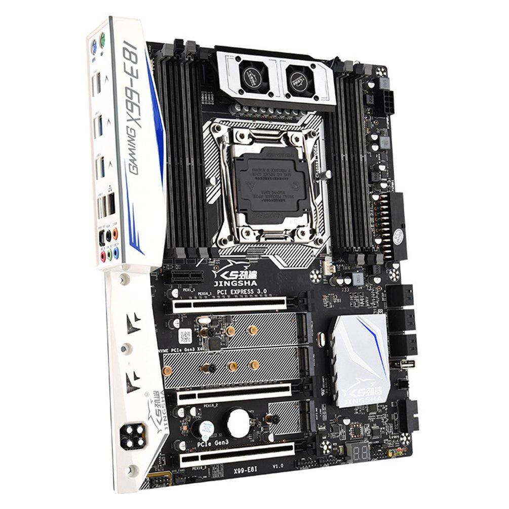 X99-E8I Computer Motherboard DDR4 Slot Xeon E5 LGA 2011-3 V3N4 Processors PCIE X16 PCle Gen3 NGFF Full-Speed M.2 Port Broadband enlarge