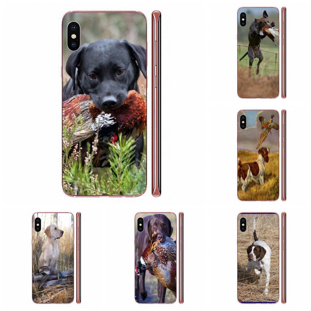 Cinegética armas perro arte Animal para Huawei Honor Mate 7 7A 8 9 10 20 V8 V9 V10 V30 P40 G Lite jugar Mini Pro P inteligente TPU Venta caliente