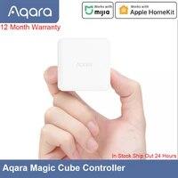 Aqara     controleur Cube magique  connexion Zigbee  Six Actions controlees pour maison intelligente  fonctionne avec application Mijia et Apple HomeKit  en Stock