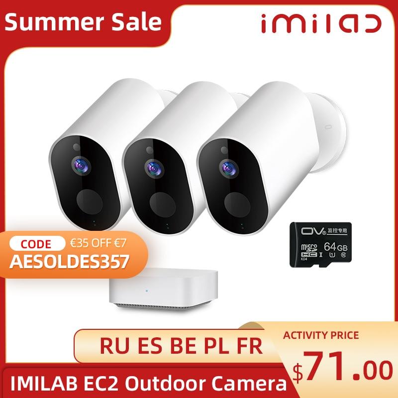 IMILAB EC2 Wifi Camera 1080P FullHD Outdoor Camera Wireless Remote Voice Intercom IP66 Waterproof CCTV Video Surveillance Camera