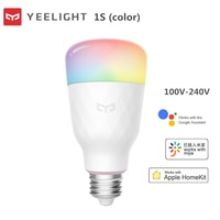 Yeelight E27 Smart LED Bulb Colorful 800 Lumen WiFi Eyes Protect Lemon Xiomi Lamp Mi Home App RGB iOS Remote Control