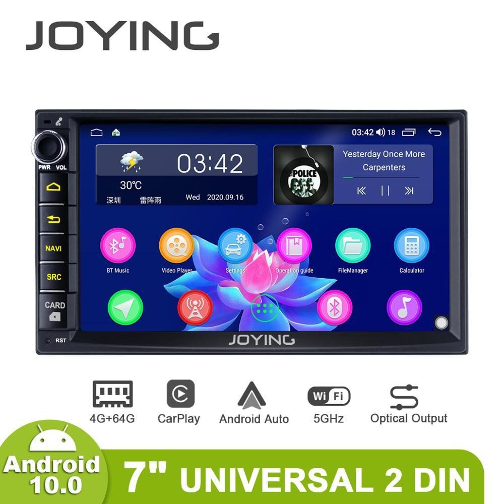 Radio de coche con Pantalla 2 Din Android 10 Radio Autoradio estéreo...