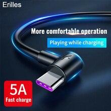 1 2 3m câble de Charge Super rapide Type de données C 5A USB C pour Samsung Huawei P40 pro Xiaomi TypeC chargeur longue cordon de téléphone portable