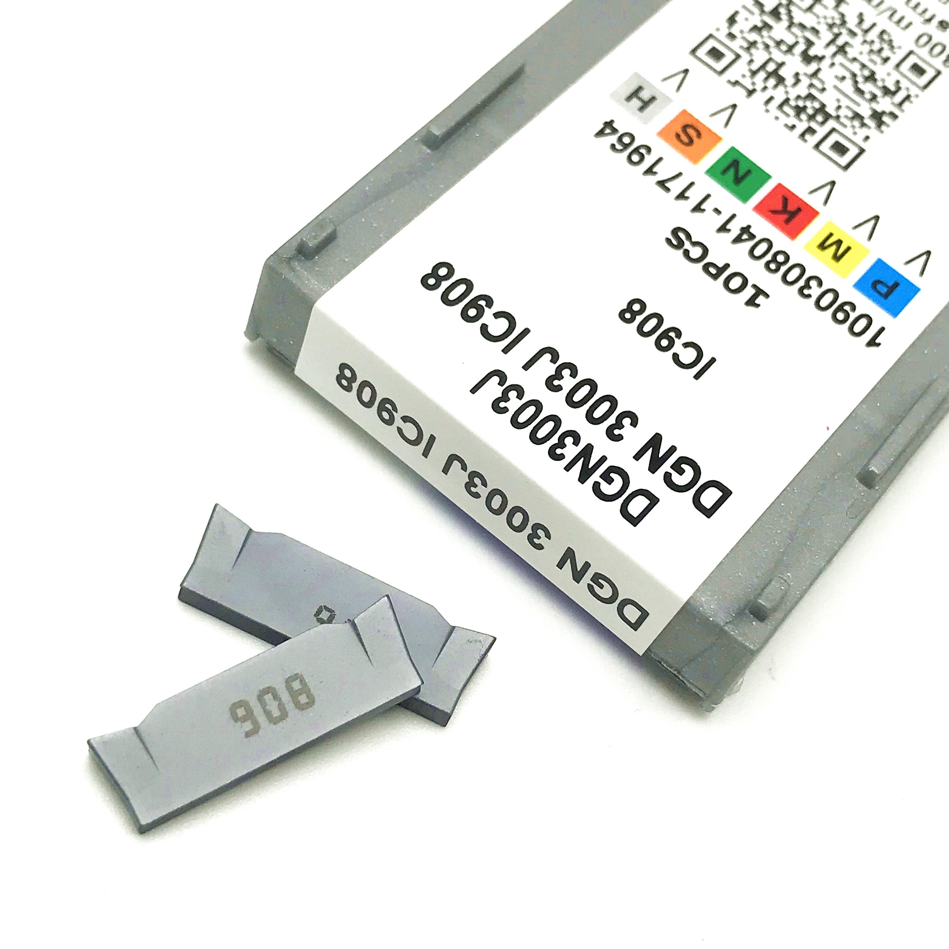 Ferramenta de torno iscr dgn 3003j ic908 3 mm cnc ferramenta para sulco e corte.