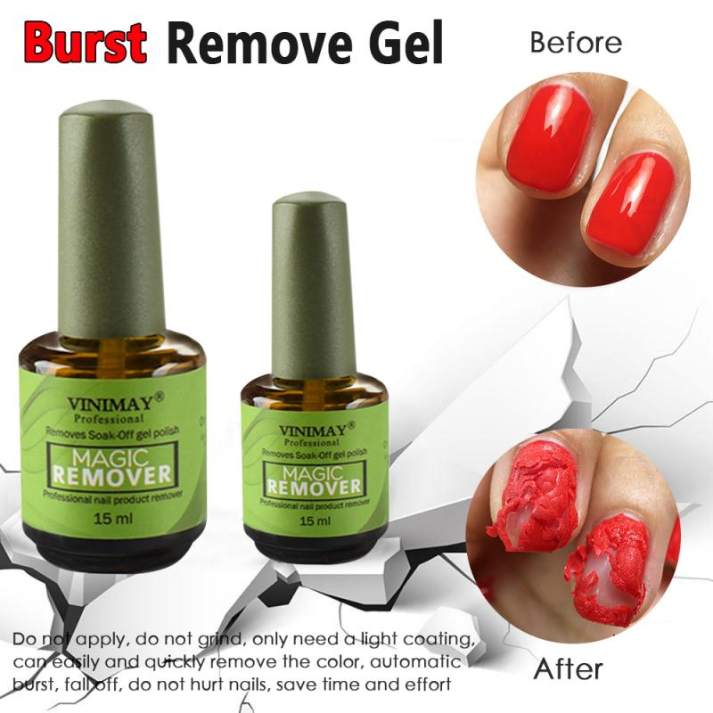 Removedor de Gel de uñas Magic 15ML, removedor de esmalte de uñas, LED UV, Primer adhesivo de manicura, removedor de esmalte de uñas, desengrase, TSLM2