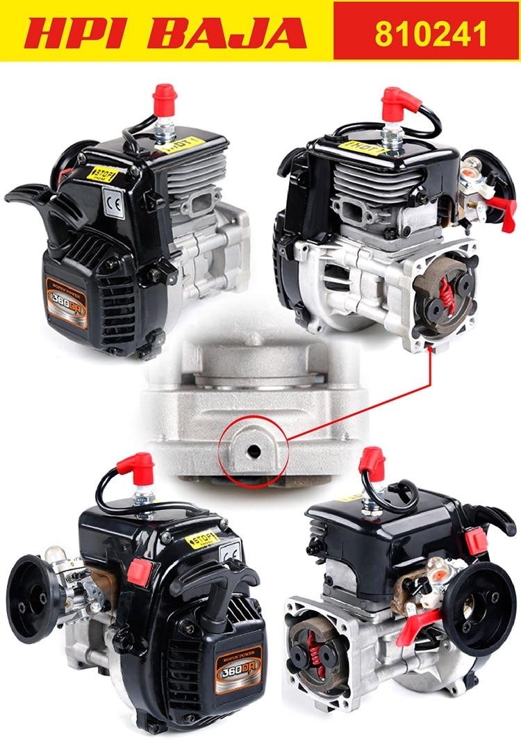 Rovan 36cc Double Piston Ring 4 Bolt Motor Gasoline Engine Walbro 1107 For 1 5 Redcat Hpi Baja 5b 5t Km Losi 5ive T Fg Engine Diy Engine Valveengine Hood Aliexpress