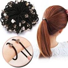 Bande élastique en caoutchouc élastique pour cheveux pour filles, corde asiatique mignonne, chouchou, 10 pièces/nouveaux Styles