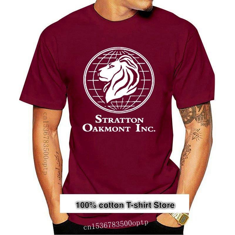 Camiseta con estampado de lobo de Wall Street Stratton para hombre, de tamaño S-3XL camisa negra, ideal para gimnasio, novedad de 2021