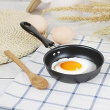 12cm mignon petit déjeuner Omelette Mini Portable oeuf Pot poêle cuisine fournitures maison antiadhésive longue poignée anti-rayures revêtement