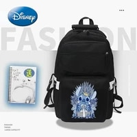 disney stitch cartoon men and women backpack fashion girl backpack travel bag laptop bag kawaii school school bag pencil case