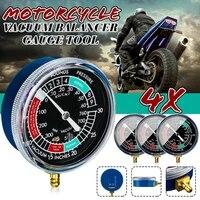 4pcsset motorcycle carb carburetor fuel vacuum gauge balancer synchronizer tool motorbike accessories