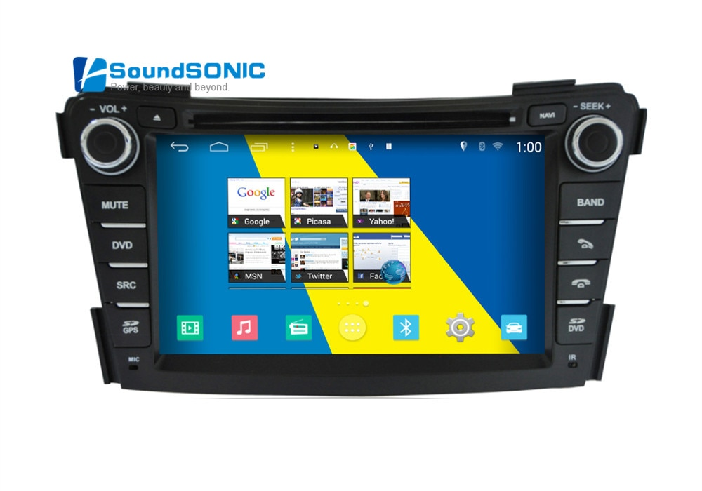 Para Hyundai i40 Android 4.4.4 S160 Automotivo en coche PC Auto Monitor coche Radio CD DVD Autoradio GPS Android para Hyundai i40