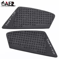 jaer motorcycle mt10 accessories rubber decal motocross oil tank pad protector for yamaha mt10 2016 2017