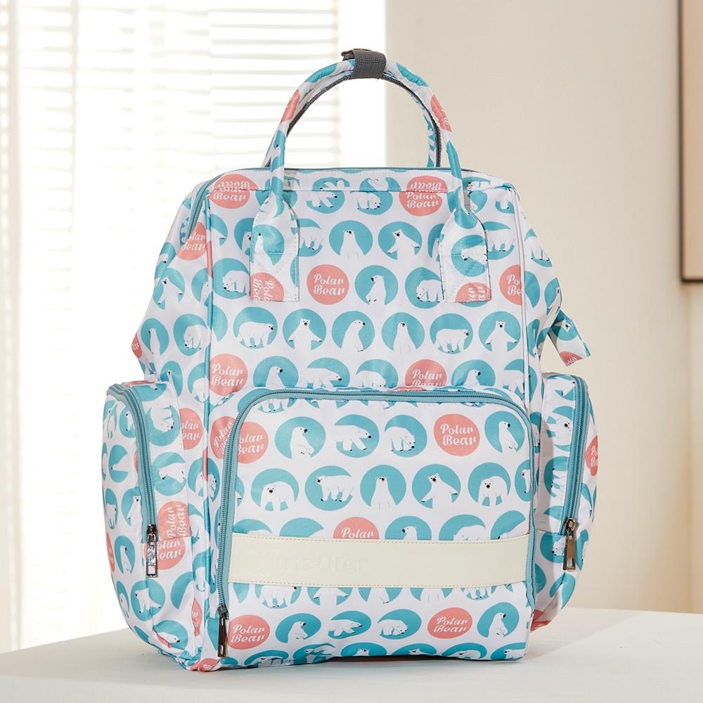 Prints Diaper Bags Large Capacity Mummy Nappy Bags Mother Waterproof Backpack Travel Baby Nursing Bag Care Shoulder Bag