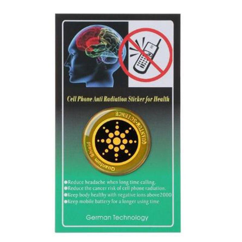 Etiqueta engomada genuina del ordenador portátil de la tableta del teléfono de la Anti radiación Protégete del bloqueador del escudo de la protección de EMF 6 uds