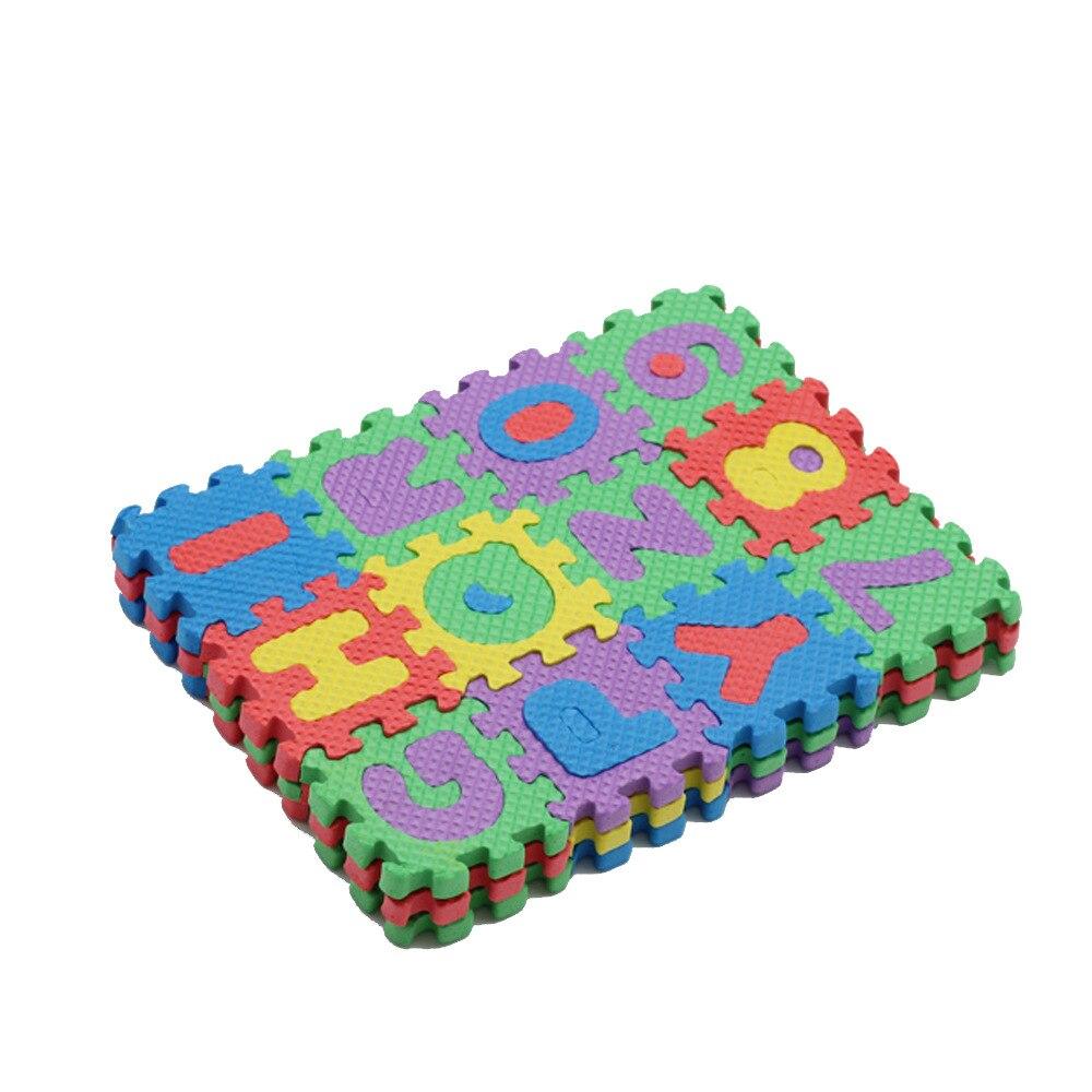 Mini Puzzle tapete de letras para Barbie accesorios muebles para muñecas Yoga Mat DIY juguete para 1/6 BJD SD para Monsther muñecas altas